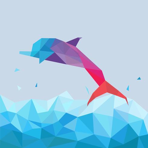 Geometric Simple Shape Animals Vector Ilration