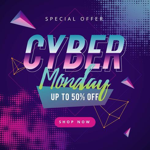 Cyber Monday Social Media Post