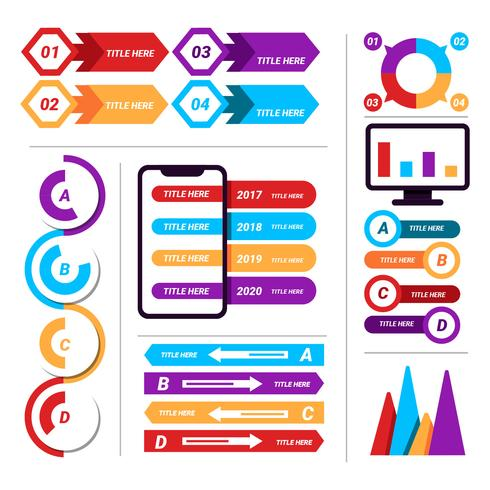 Infographic Business Element Vector