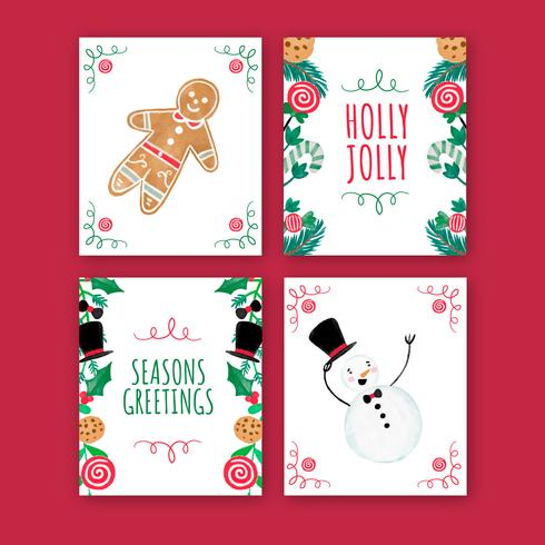 Cute Christmas Cards Collection