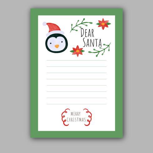 Cute Christmas Santa Card