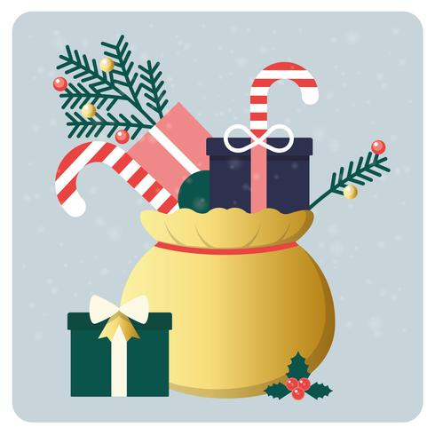 Vector Christmas Elements Illustration