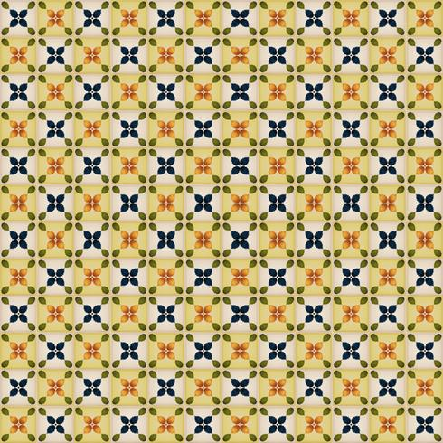 Seamless Wallpaper With Portuguese Tiles