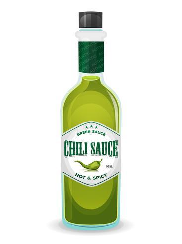 Salsa Verde De Chile En Botella