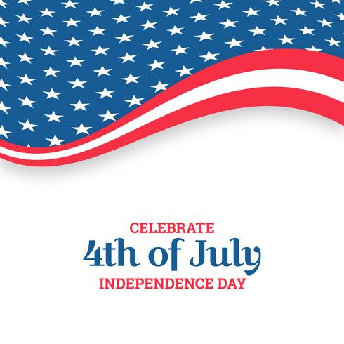 Independence day design. Holiday in United States of America vector