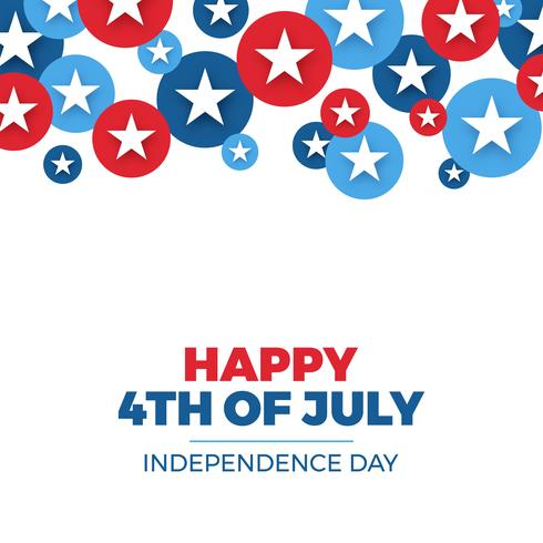 Independence day design. Semester i USA