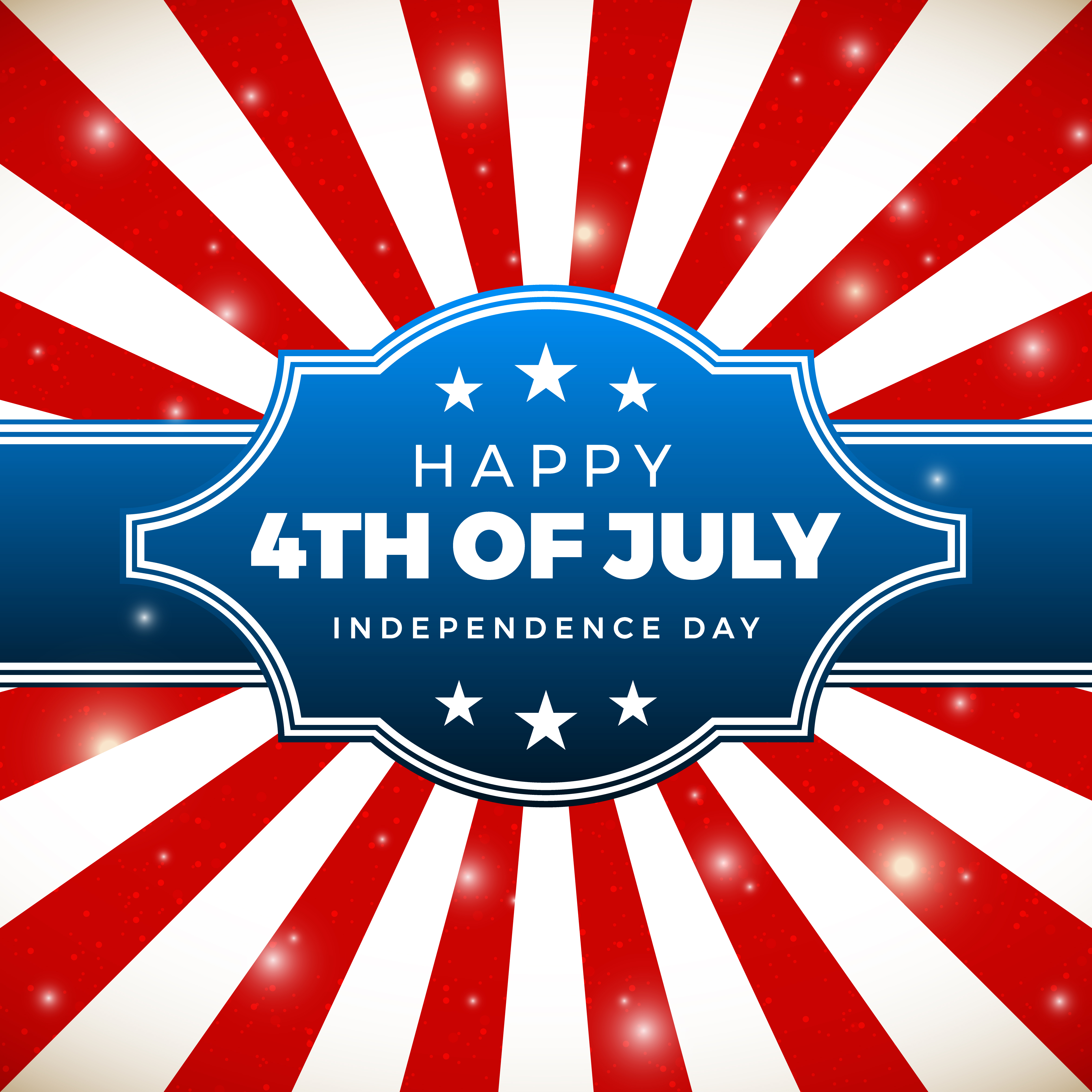 Independence Day: Independence Day Design. Holiday In United States Of