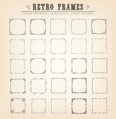 Vintage Old-Fashioned Frames