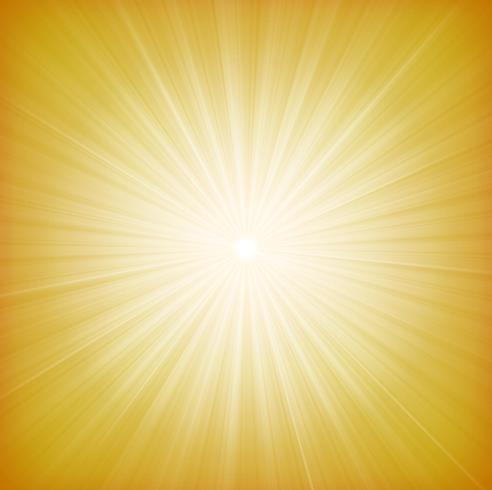 Summer Sun Starburst Background