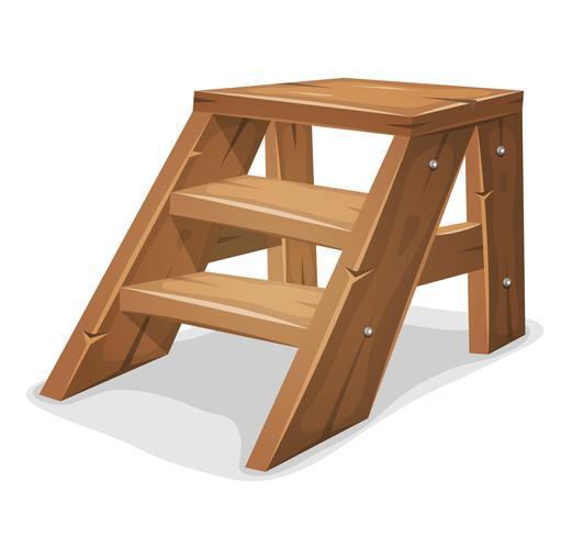Holz Trittbrett