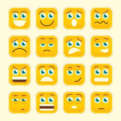 Emoticons instellen