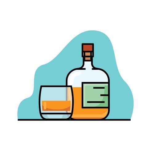 Bourbon vektor illustration