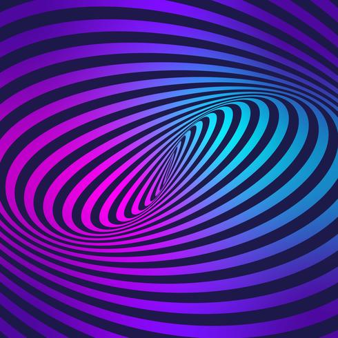 Stripes Movement Illusion Colorful Background