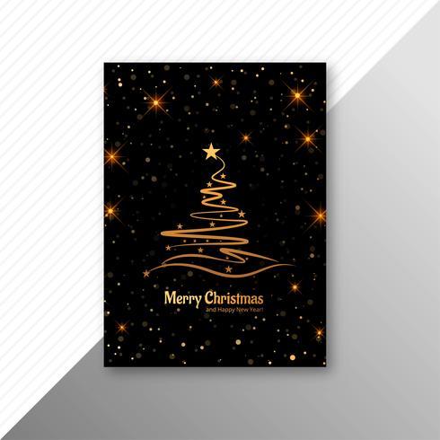 Vector de fondo de plantilla de feliz Navidad fiesta flyer