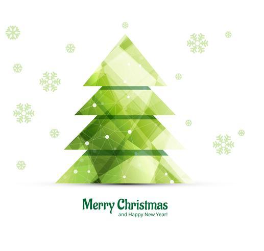 Fundo de árvore de Natal feliz decorativo