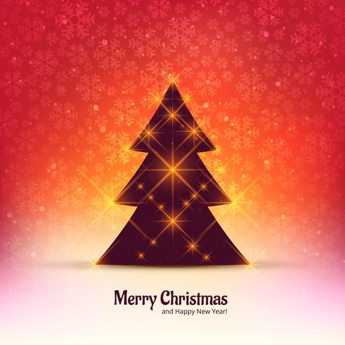 Joyeux Noël fond de célébration d'arbre