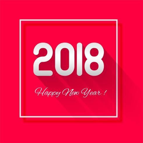 2019 Buon anno testo sfondo vettoriale
