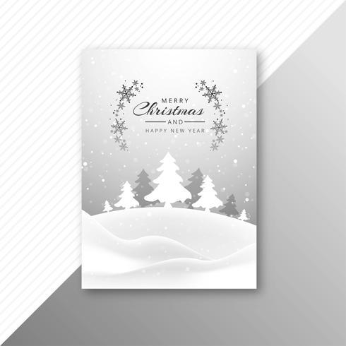 Épouser la conception de modèle de brochure arbre de Noël