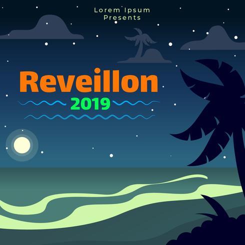 Reveillon Poster Template