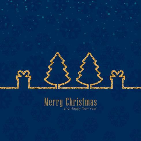 Merry christmas celebration background