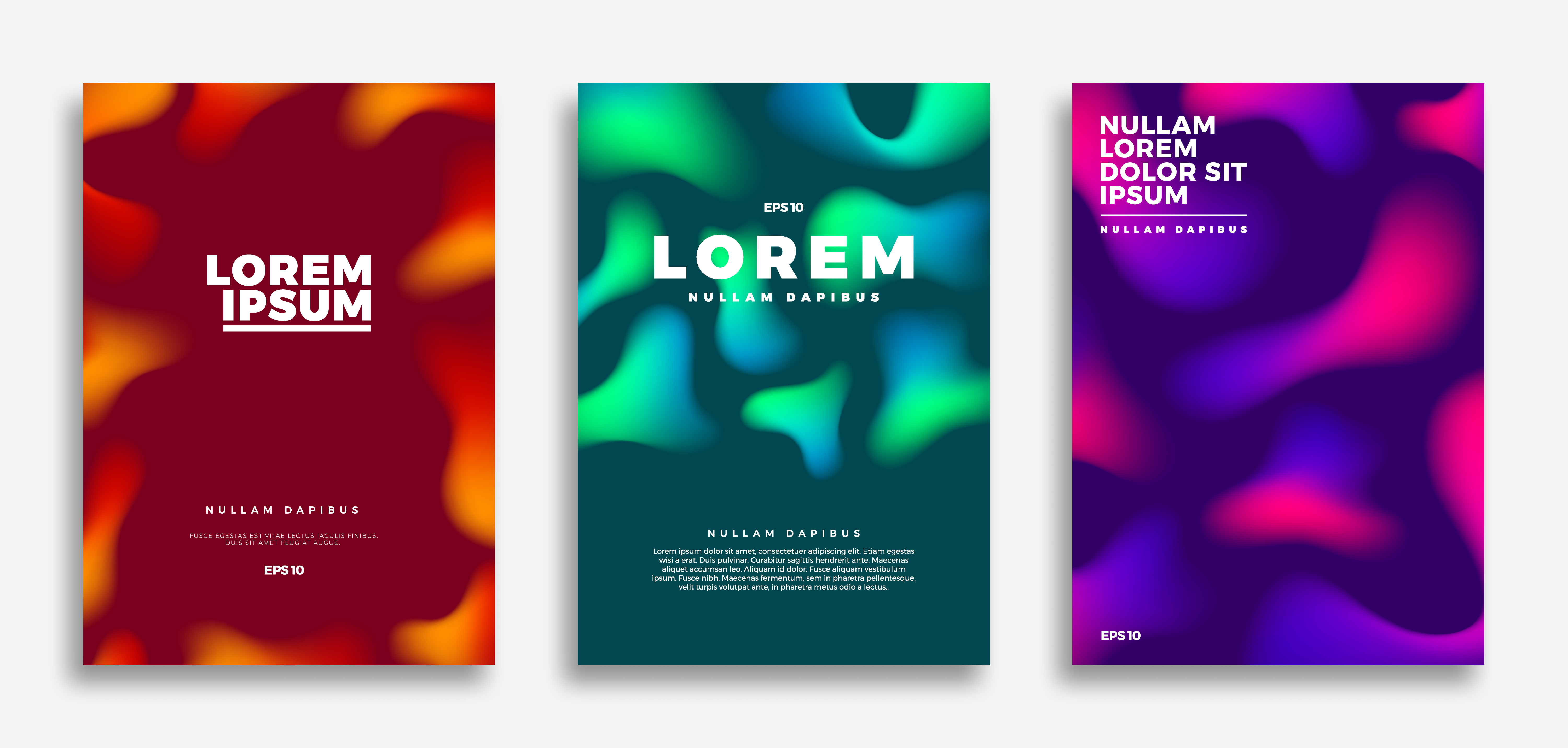 cover page design  creative gradients background
