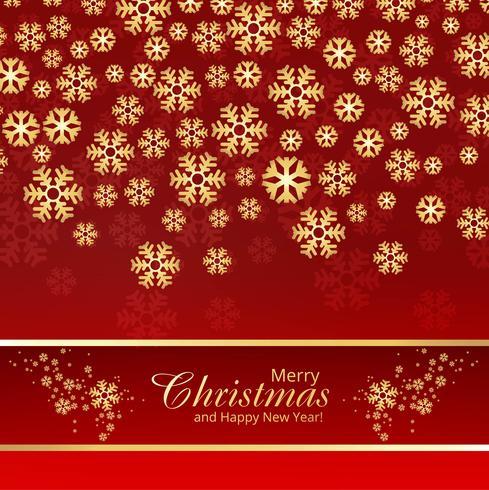 Fondo decorativo de la Feliz Navidad del copo de nieve