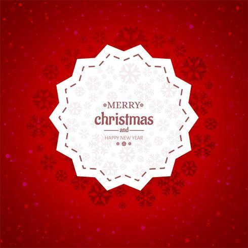 Vettore del fondo della carta di Buon Natale