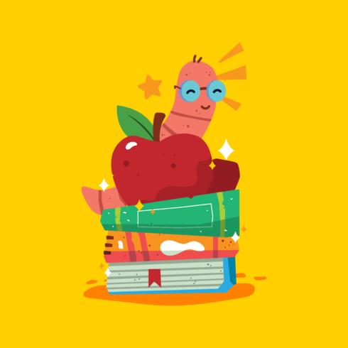 Vecteur de rat de bibliothèque
