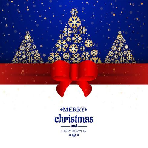 Fondo decorativo della carta di Buon Natale