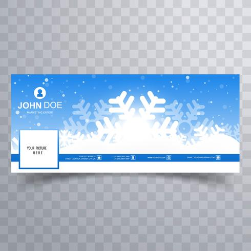 Merry Christmas Card With Facebook Cover Banner Template Download Free Vectors Clipart Graphics Vector Art