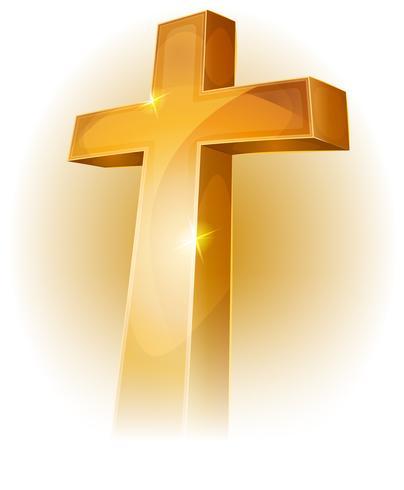 Gold Christian Cross