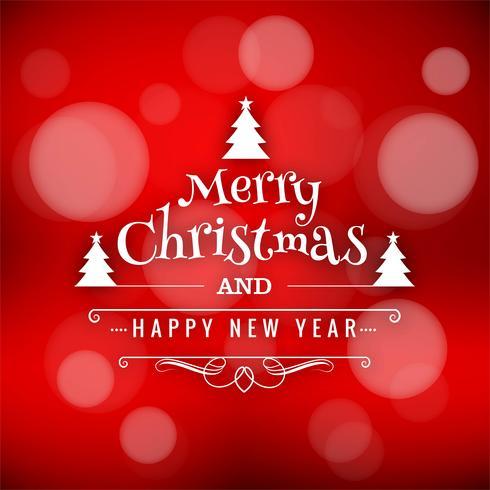 Schönes Design der Karte der frohen Weihnachten