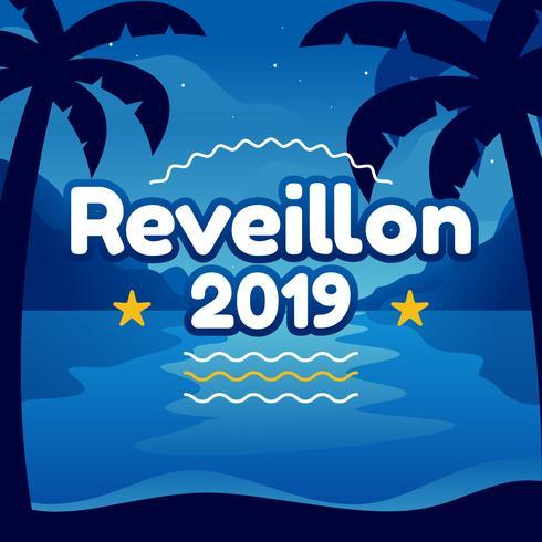 Reveillon Poster Design