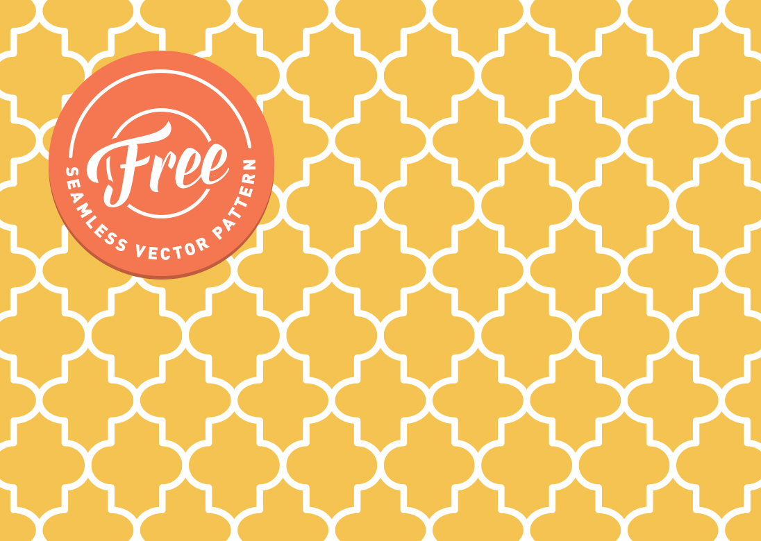 Moroccan Tile Free Vector Art 2077 Free Downloads