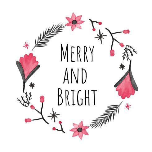 Cute Christmas Wreath To Christmas Season