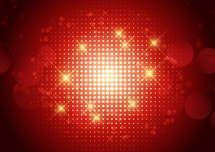 Design de meio-tom com pontos brilhantes