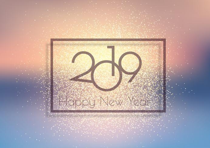 Brillante fondo de feliz año nuevo