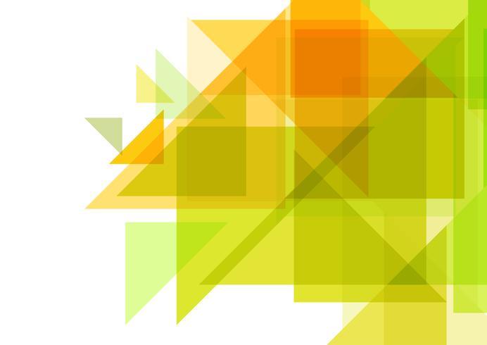 Desenho geométrico abstrato vetor