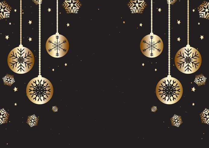 kerst achtergrond 2020 Christmas background in gold and black   Download Free Vectors