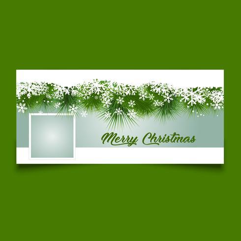 Design della copertina del calendario di Natale