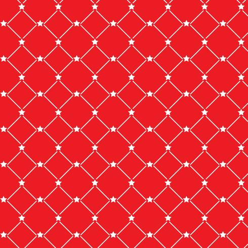Christmas star pattern background  vector