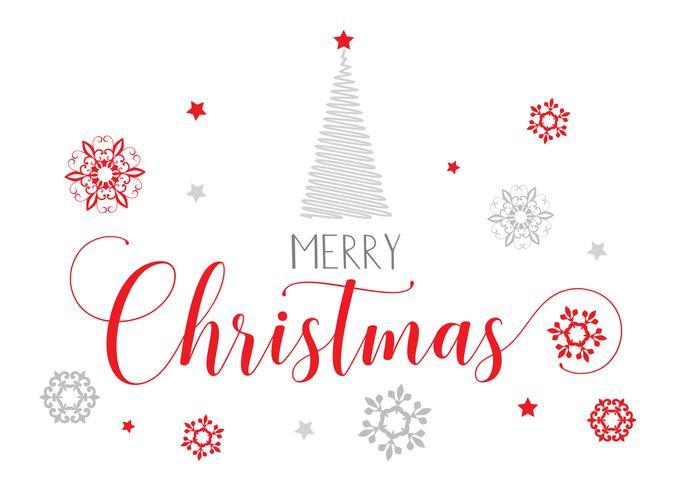 Fondo de texto decorativo de Navidad vector