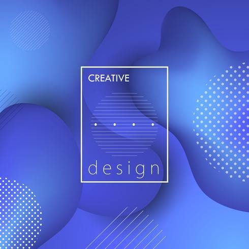 Sfondo di design creativo
