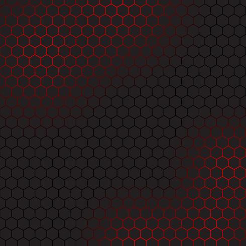 Abstract background with hexagonal design  vector