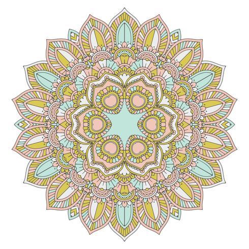 Mandala decorativa de diseño