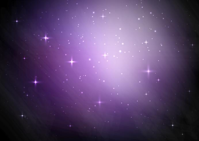 Fond de ciel étoilé Galaxy