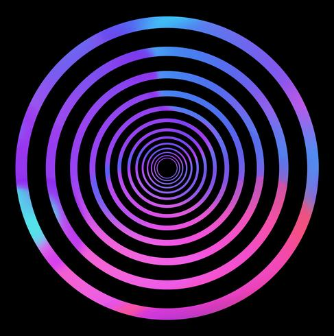 Fundo abstrato efeito holográfico