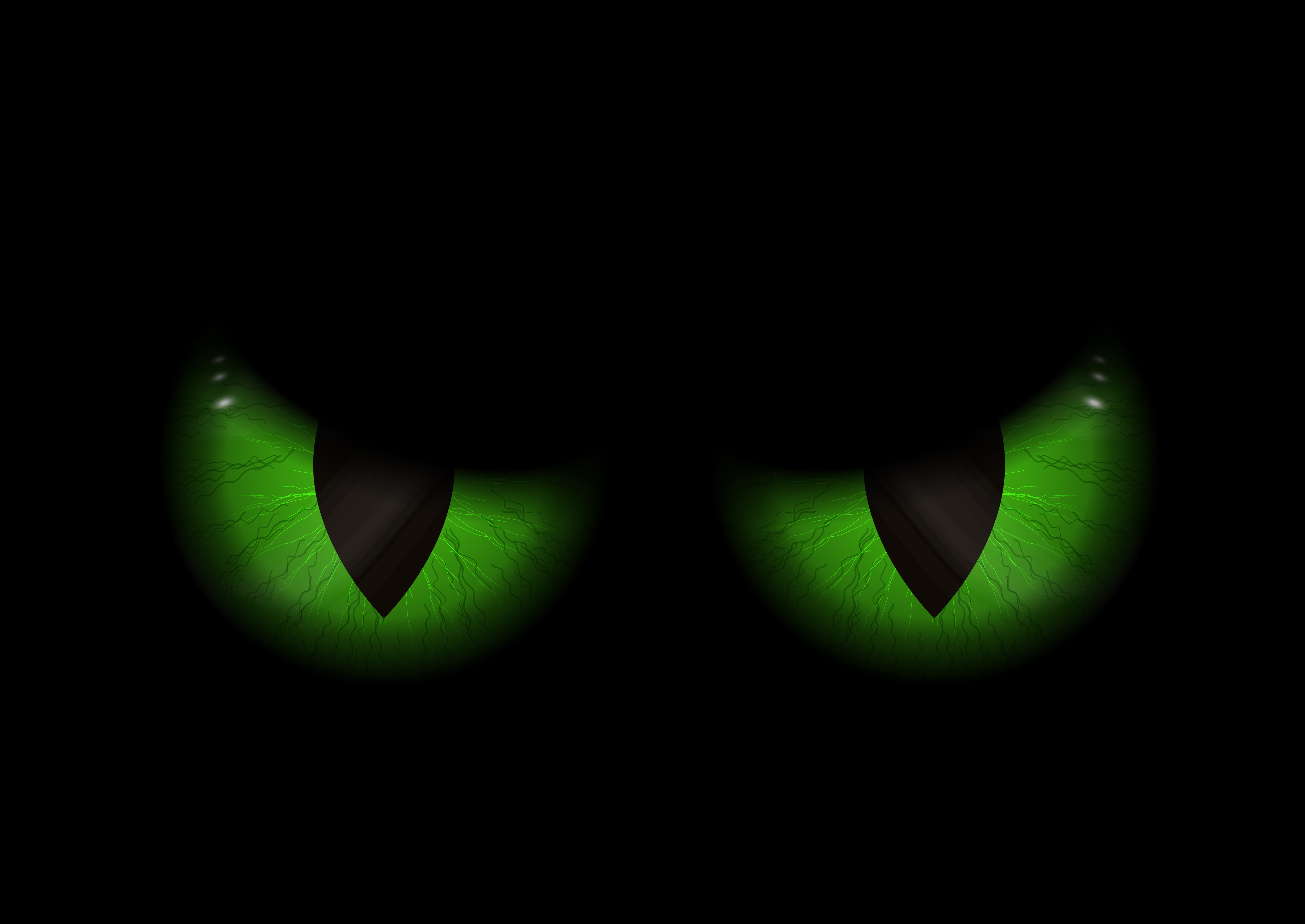Green evil eyes background download free vector art - Evil eye pics ...