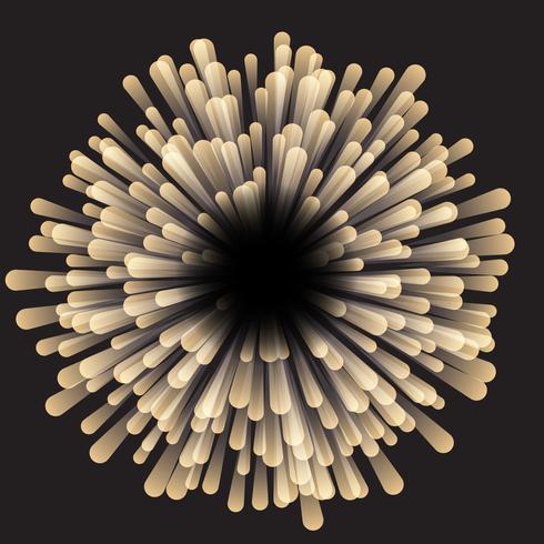 Fondo abstracto de starburst vector