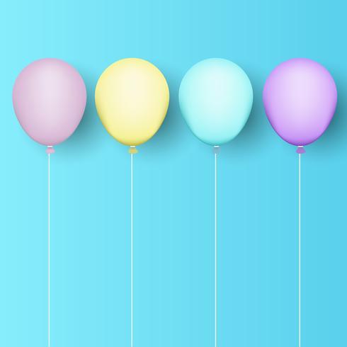 Fondo de globos